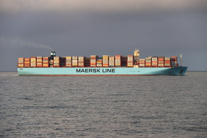 Containerschip ULCS Maersk Line