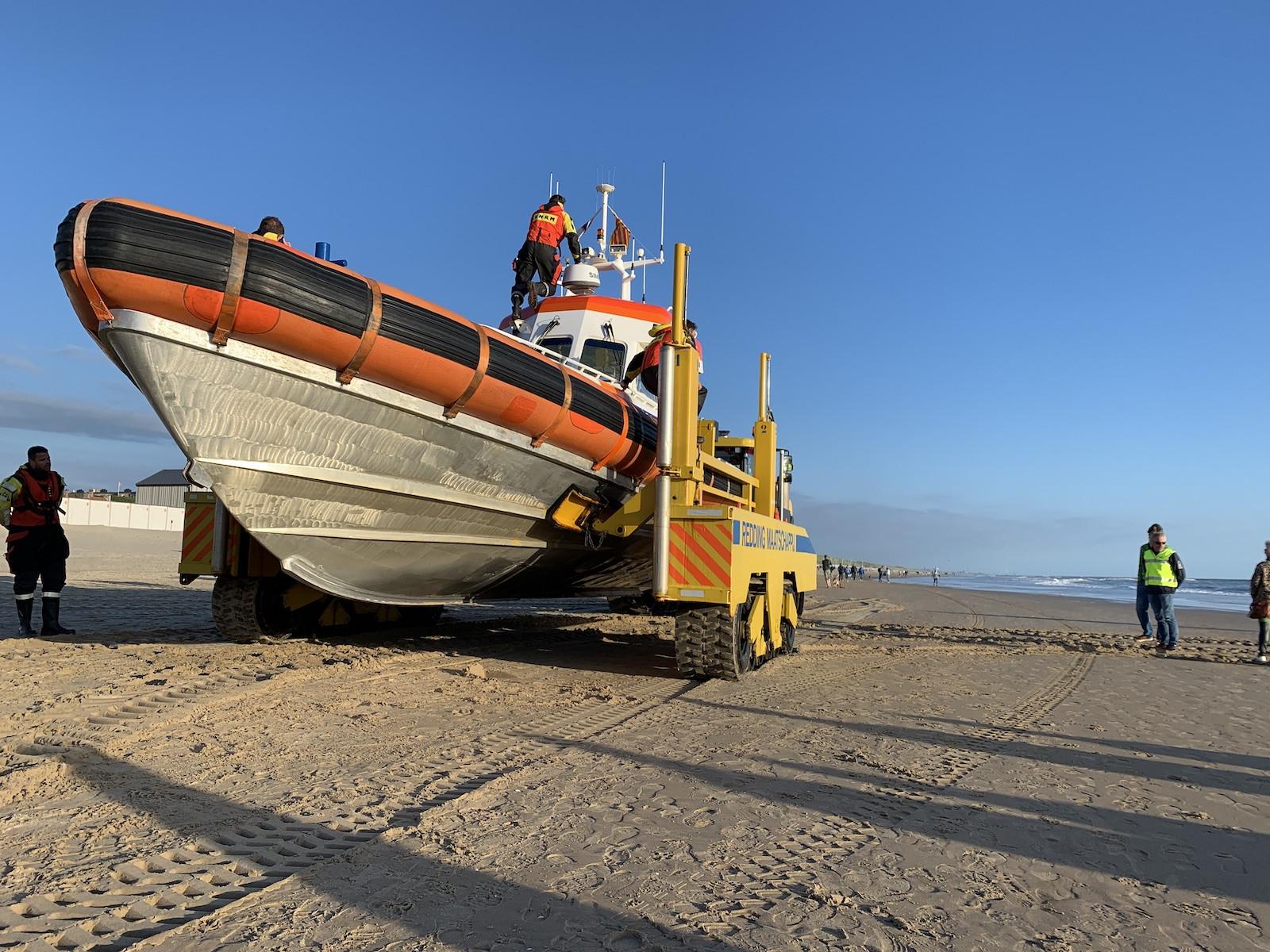 Oefenavond KNRM Egmond aan Zee